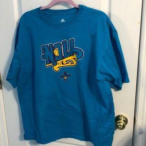 adidas Shirts - Adidas New Orleans Hornets t shirt (XL)
